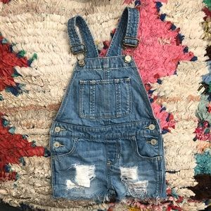 Baby Gap Customized Short Overalls